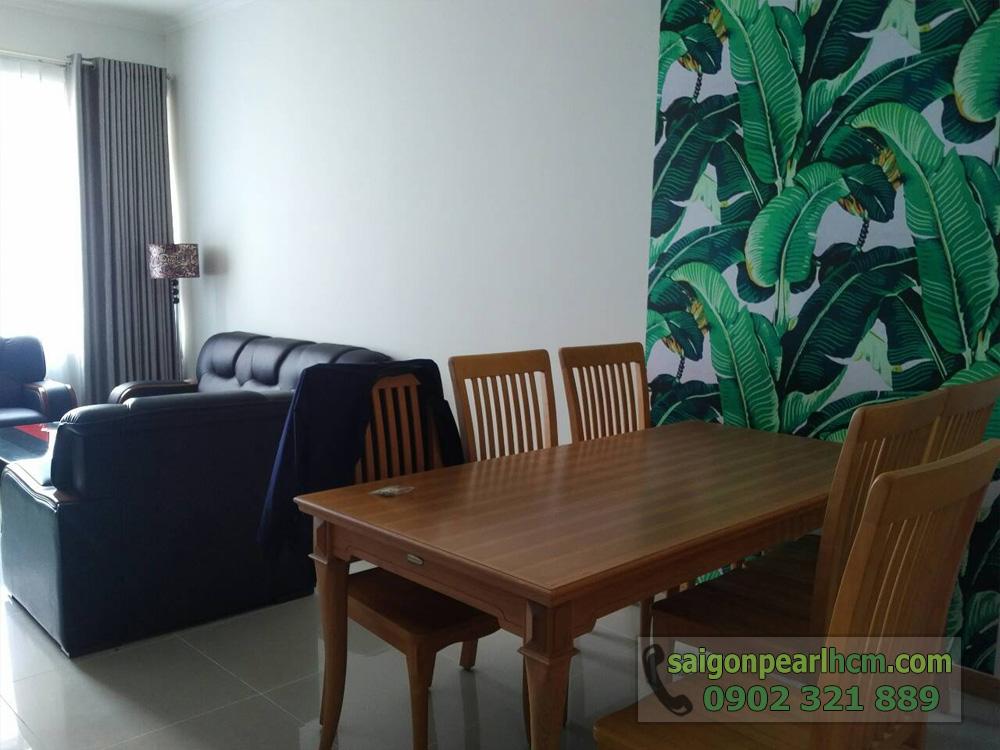 Cho thuê căn hộ Saigon-Pearl Topaz 1 tầng 29 nội thất mới đẹp