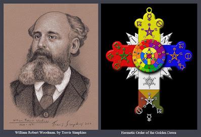 William Robert Woodman. Hermetic Order of the Golden Dawn. Ceremonial Magick. by Travis Simpkins