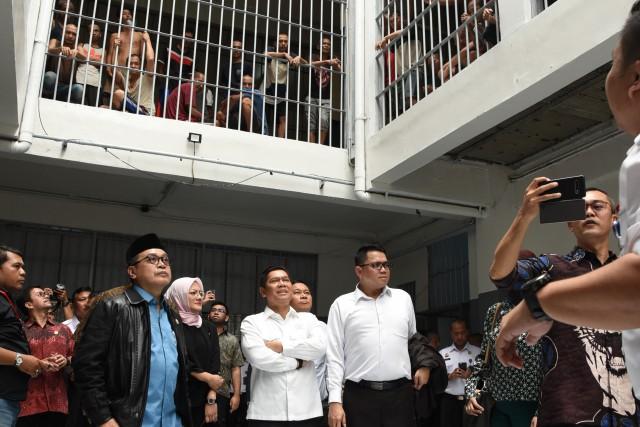 Sidak ke Cipinang, Komisi III DPR Sorot Over Kapasitas Lapas