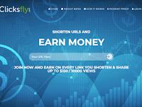 Clicksfly Review - Shorter Url Terbaik ( Cara Mendapatkan Dolar $ Dari Shorter Url )