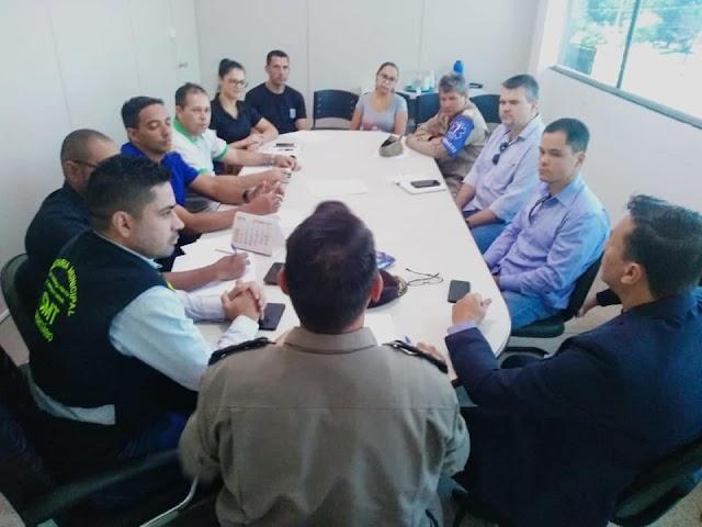 Senador Canedo: Segurança Pública se reúne com fiscais para discutirem índices criminais