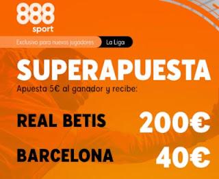 888sport superapuesta Betis vs Barcelona 7 febrero 2021