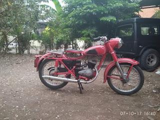 Montor DKW Antik Simpenan Embah...Monggo Yang Mau Miara