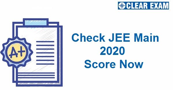 Check your JEE Main 2020 Score