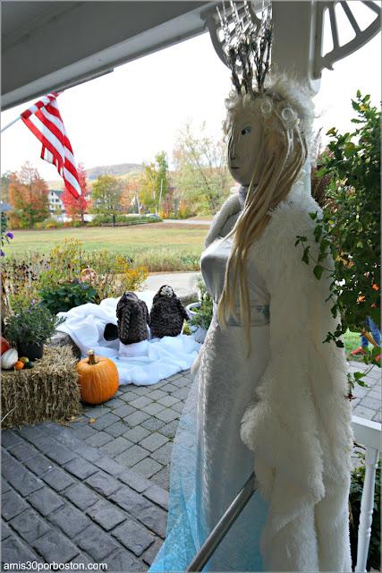 Reina Blanca de las Crónica de Narnia Calabaza en New Hampshire