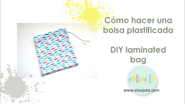 tutorial bolsa plastificada
