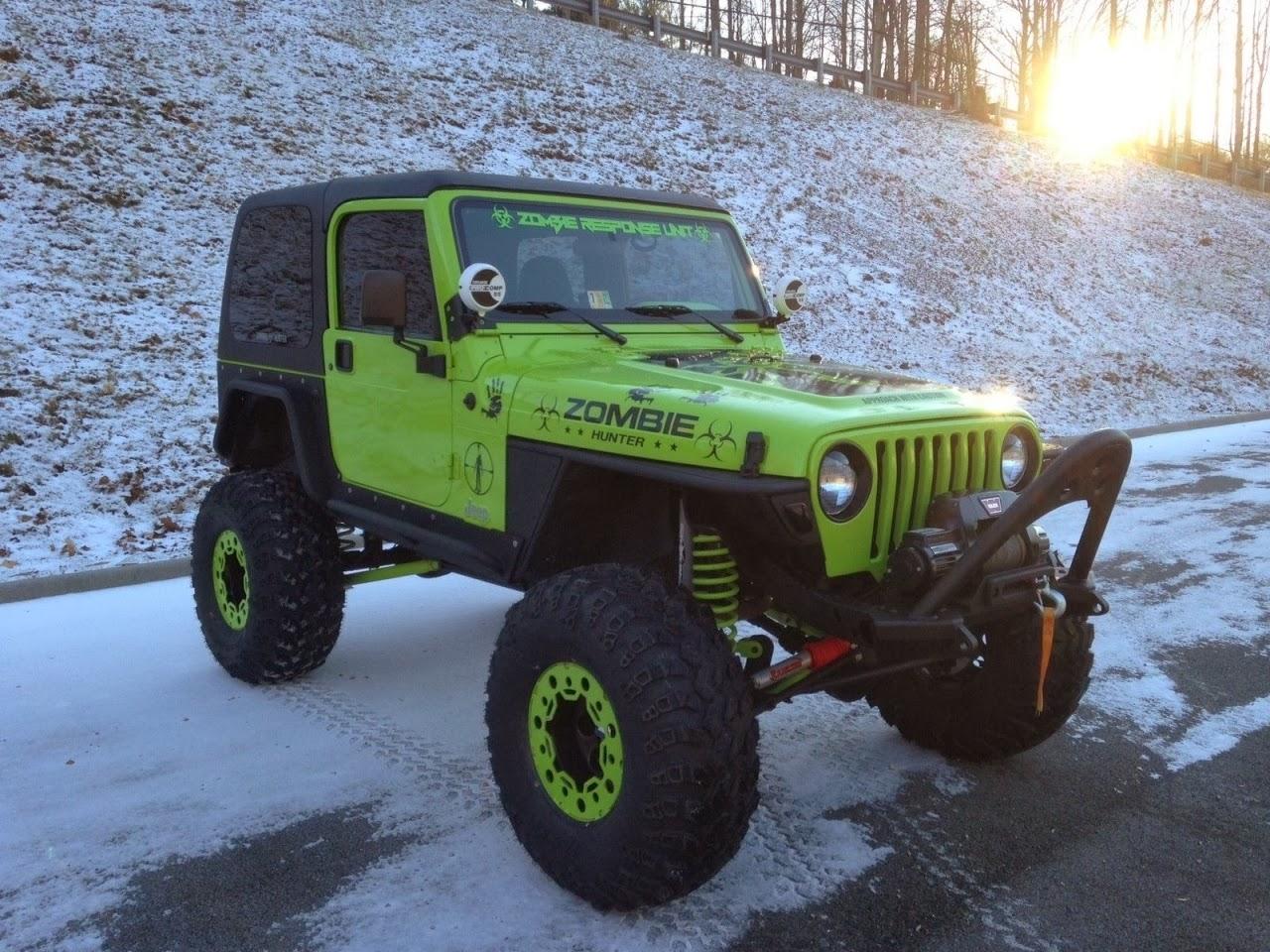 Wrangler Jeep Inside >> The Coolest Custom 1997 Jeep Wrangler | Auto Restorationice