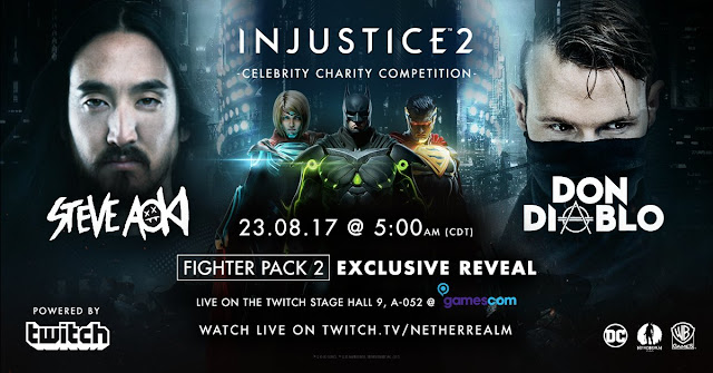 No dia 23 de agosto conheceremos três novos personagens que farão parte do Fighter Pack 2.