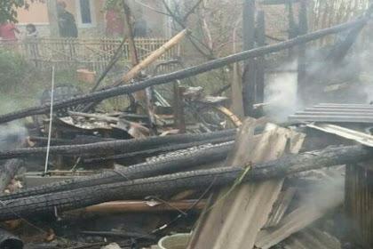 Naas, Kakek Di Indramayu Tewas Terbakar Di Rumahnya Sendiri