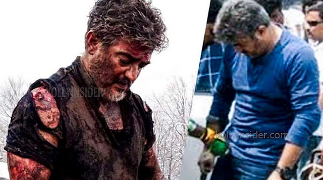 Ajith survives with minor injuries in the sets of 'Valimai'