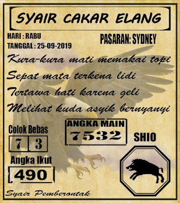 SYAIR SYDNEY  25-09-2019