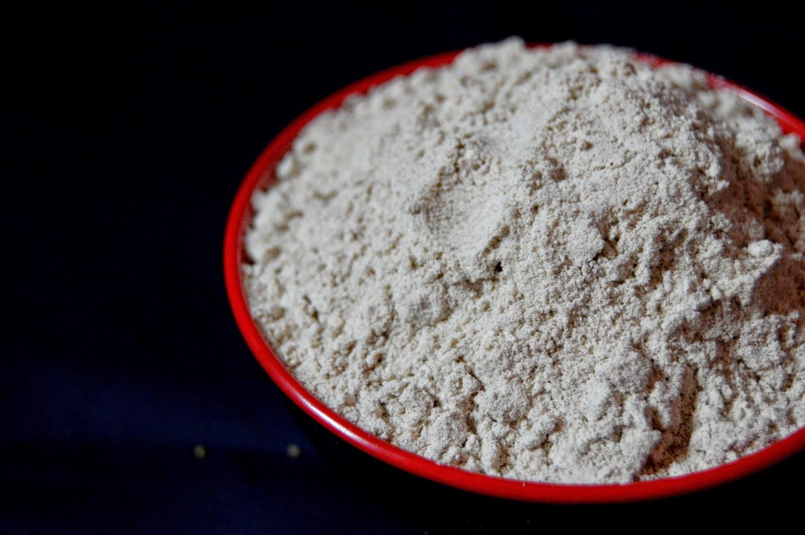 Pavi's Platter: Homemade Multi Millet Flour !