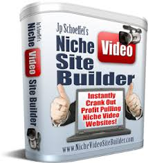 Niche video site builder software