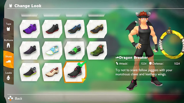 Ring Fit Adventure Dragon Breaker outfit
