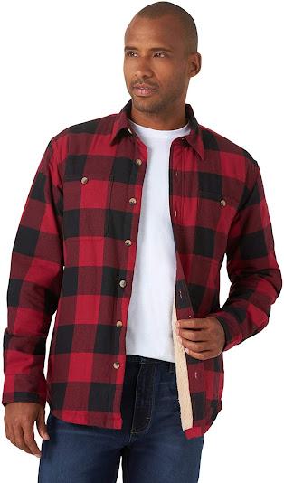 Best Men's Red Plaid Flannel Shirts