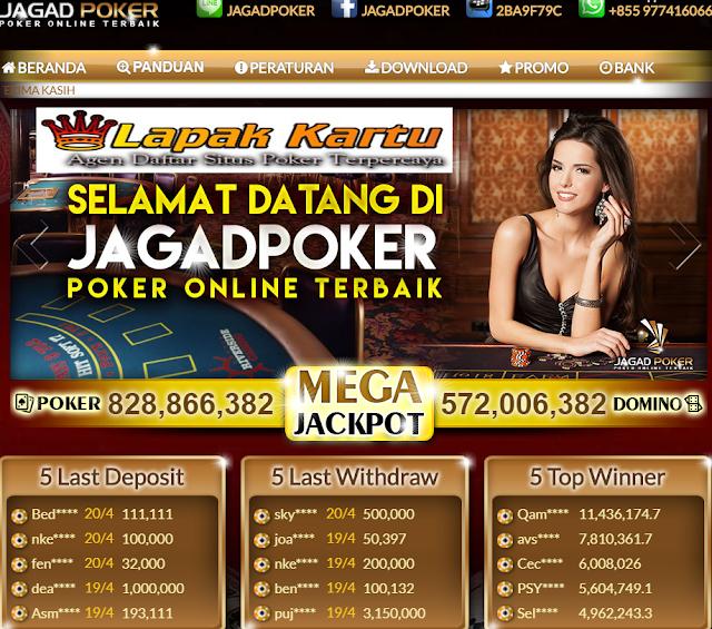 JAGADPOKER - Agen Judi Online Dengan Uang Asli Terbaik di Indonesia