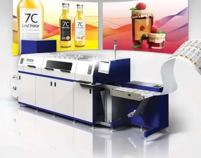 Epson Unveils New Line of Digital Label Printers