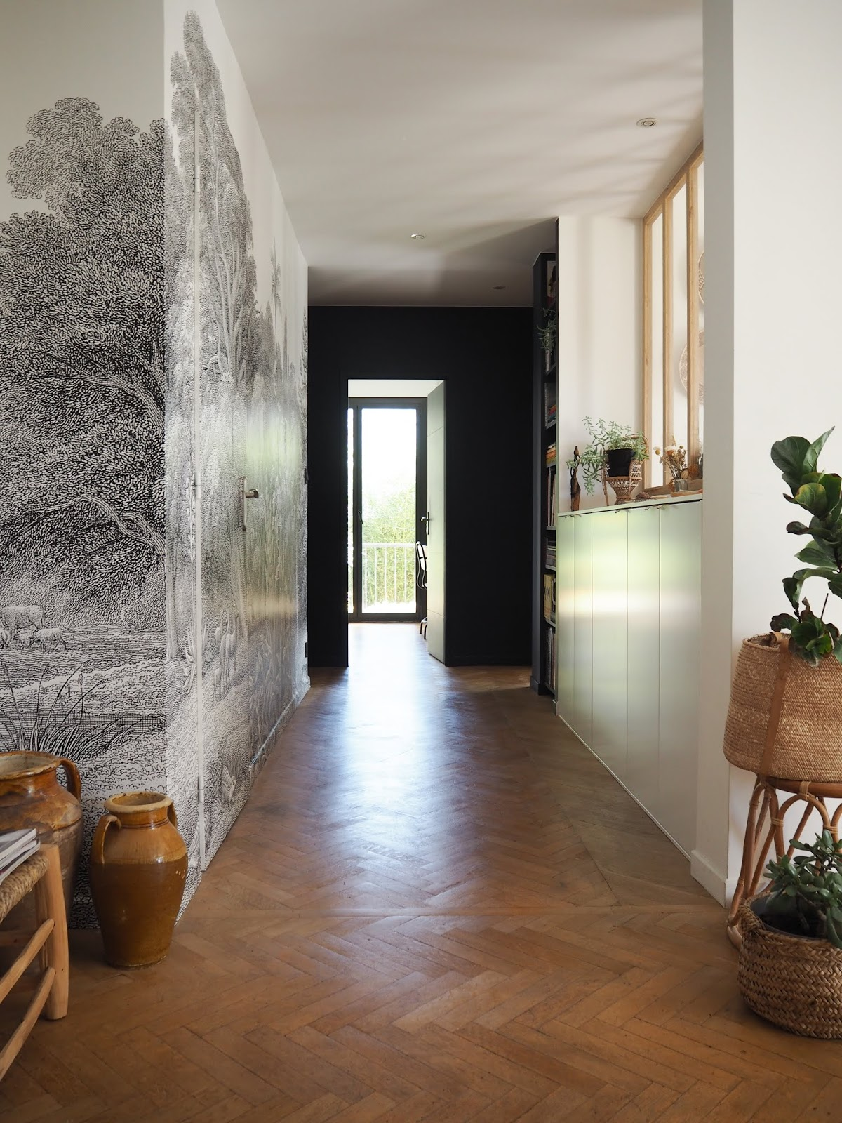 #ikeahack in a hallway - aménagement couloir • ilaria fatone