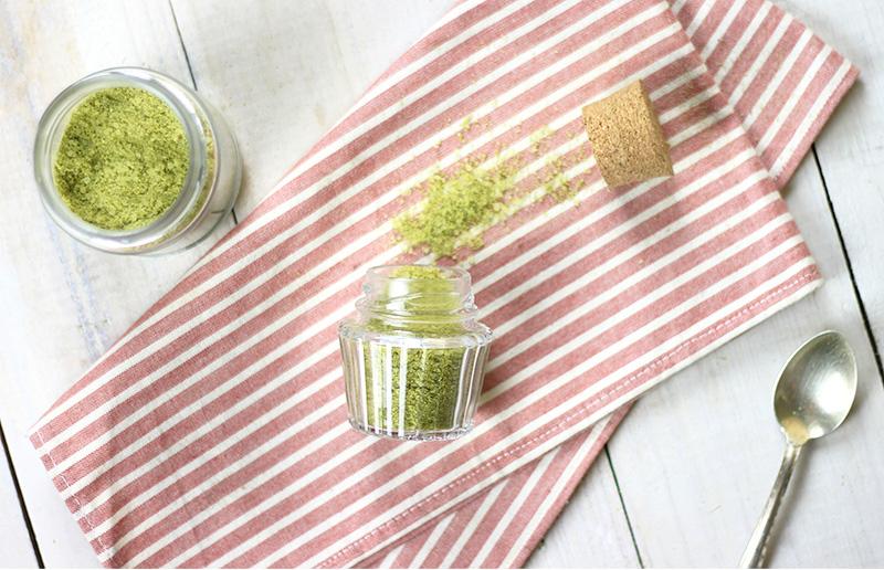 Um presente legal para dar de Dia das Mães: sal de ervas!