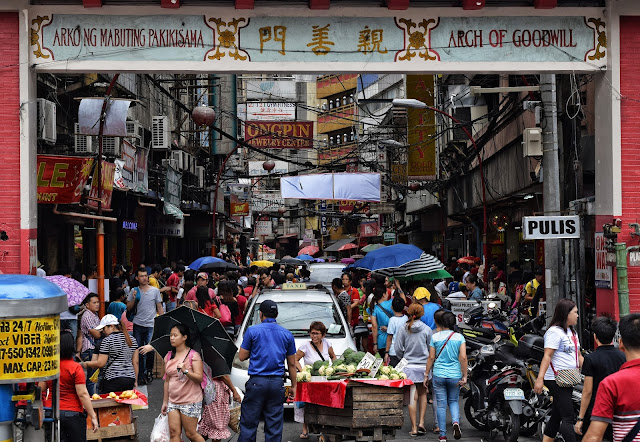 The Arch of Goodwill, Ongpin Street