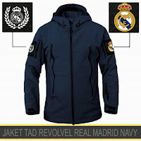 Jual Jaket Bikers Gunung Waterproof Tactical Revolver Real Madrid Murah