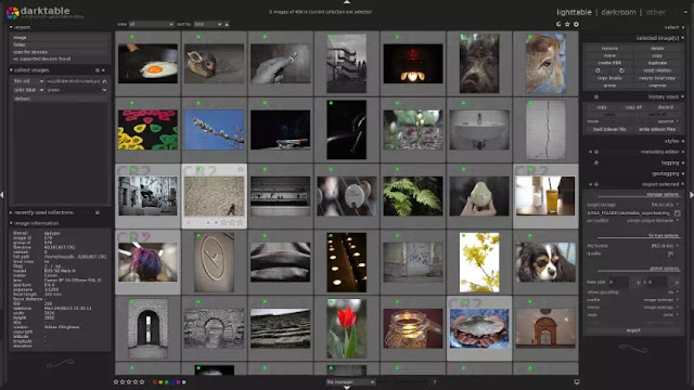 Darktable - photography workflow application and raw developer