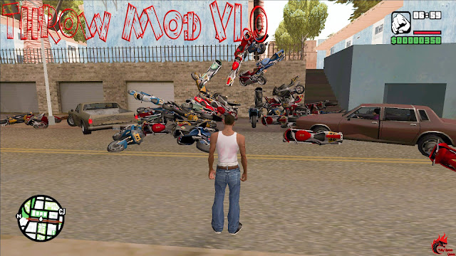 GTA San Andreas Bike Throw Mod V1.0