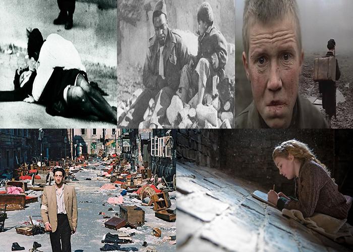 Cinco filmes sobre a segunda guerra mundial
