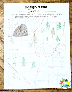Design a Zoo: Project Based Learning | Apples to Applique