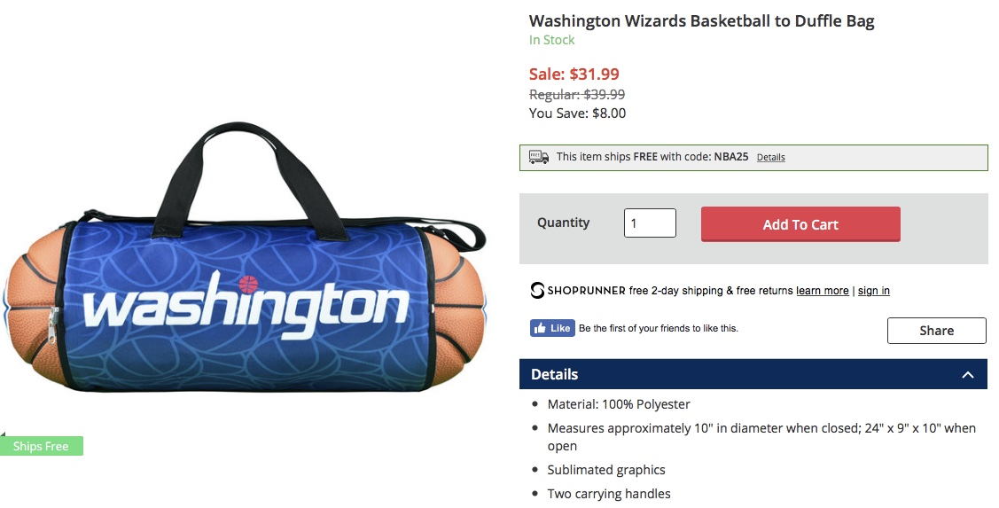 93d4597605 My Swag Was Phenomenal  For Sale At The NBA Store