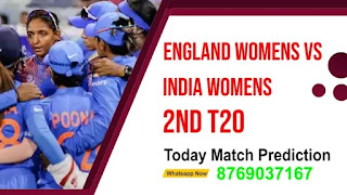 ENGW vs INDW 2nd Womens T20 Match 100% Sure Match Prediction