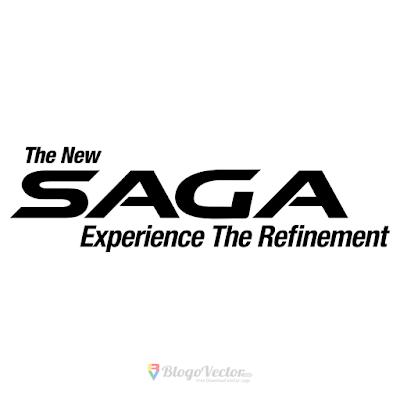 Proton Saga Logo Vector