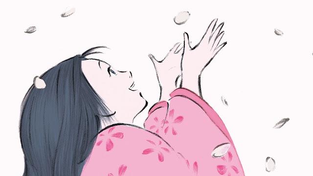 Película El cuento de la princesa Kaguya de Studio Ghibli, dirigida por Isao Takahata en el año 2013