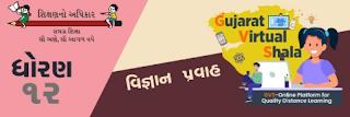 Gujarat Virtual Shala Live Class Std 12 | Gujarat Virtual Shala Online Class For 12