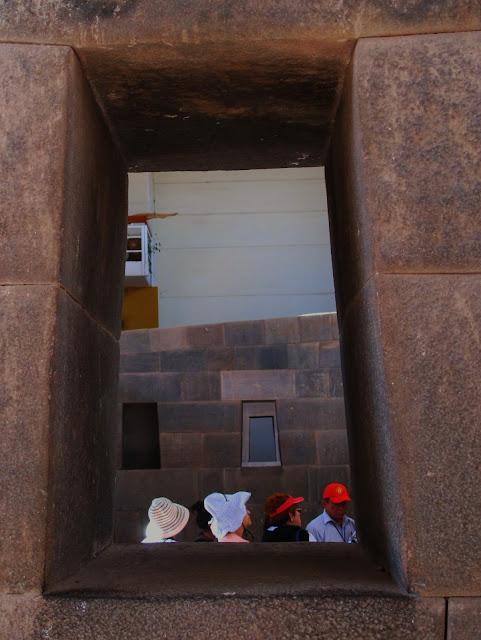 Qoricacha, ruínas do antigo Império Inca, em Cusco no Peru