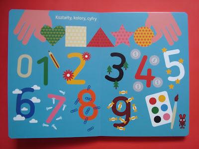 moja pierwsza encyklopedia obrazkowa, cyfry, kształty, kolory