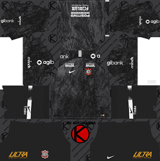 Corinthians 2018/19 Kit - Dream League Soccer Kits