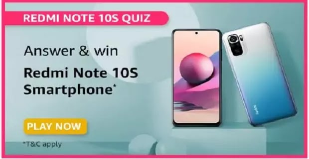What is the rear camera specifications of Redmi Note 10S?