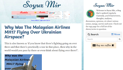Soyuz Mir, blog, technology, internet browsers, world news