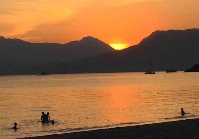 Sunrise at Olongapo City, Philippines