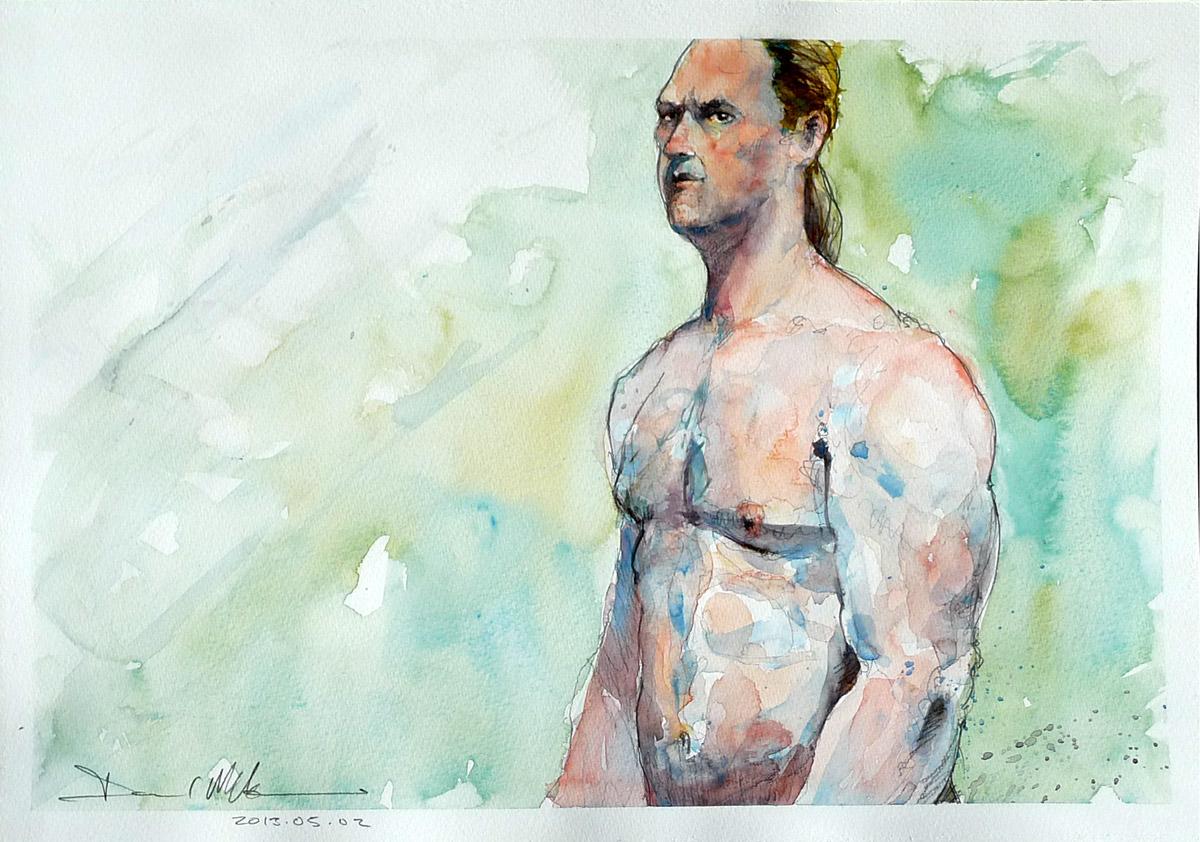 The Body Builder by David Meldrum, 20130502