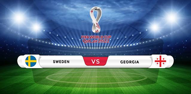 Sweden vs Georgia Prediction & Match Preview