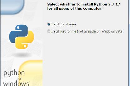Cara Mudah Install Python 2.7 di Windows