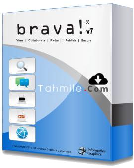 تحميل برنامج لفتح ملفات الاوتوكاد Brava! Free DWG Viewer