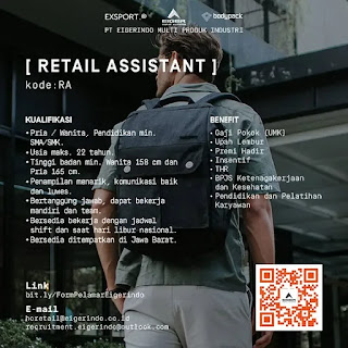 Info Loker Eiger Store Subang