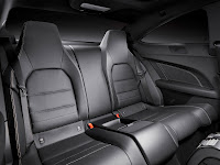 2011/2012 Mercedes C-Class Coupé (W 204) C 250 CDI Diesel Interior Back Seat official press media picture image photo