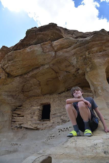 JJ at Anasazi Grainery