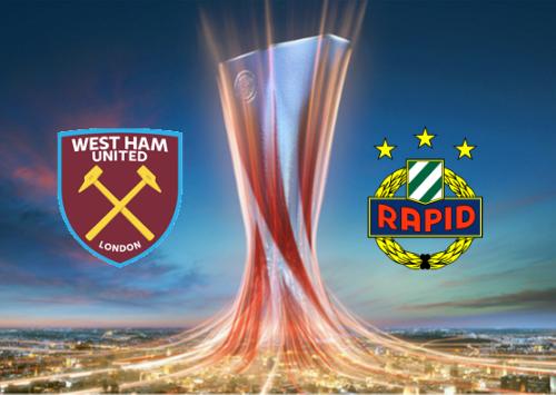 West Ham United vs Rapid Vienna -Highlights 30 September 2021