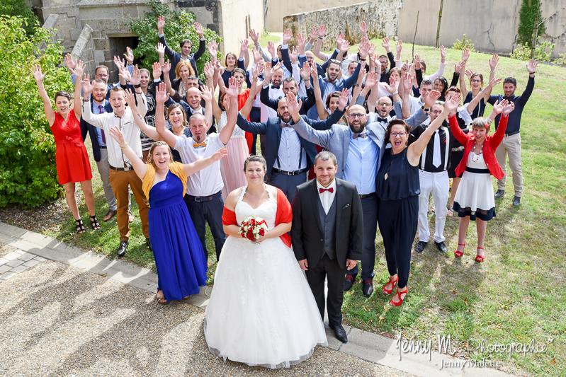 photo de groupe mariage les copains