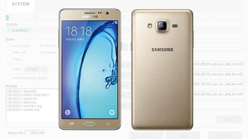 Flashear, instalar firmware oficial Samsung Galaxy On5 paso a paso